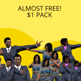 Almost Free $1 Pack