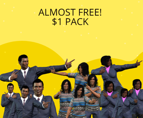 Almost Free 1 Pack Unimation Media