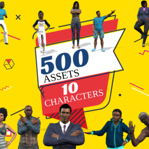 Brown Pack 500 Assets
