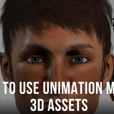 How to Use Unimation Media 3D Assets