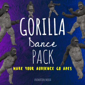 Unimation Media Gorilla Dance Pack
