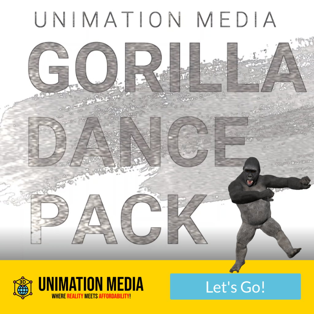 Unimation Media Special Gorilla Dance Pack for InVideo