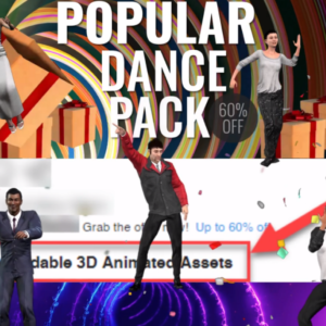 Unimation Media Popular Dance Pack