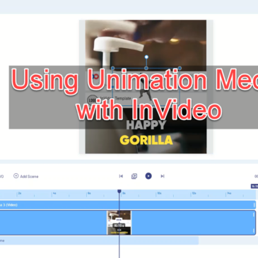 Unimation Media Used Inside InVideo