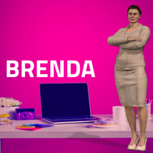 Unimation Media Professional Avatar Brenda