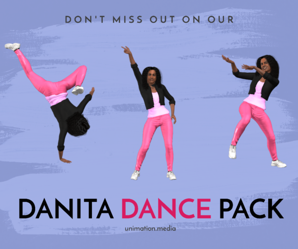 Unimation Media Danita Dance Pack