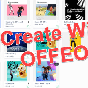 How to Create Awesome Videos using Offeo and Unimation Media
