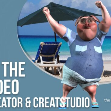 How to Use #VideoCreator & #CreateStudio with 3D Assets