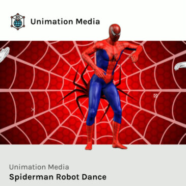Spiderman Rocks Up A Robot Dance that is Super-Awesome